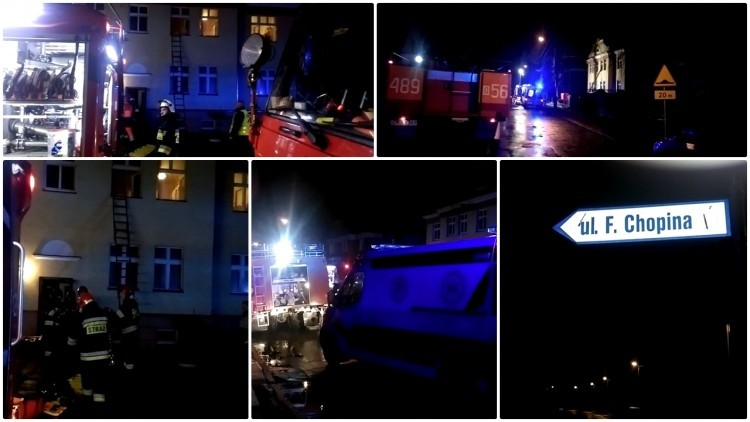 Tragiczny pożar przy ul. Chopina w Malborku. Mężczyzna zginął na…