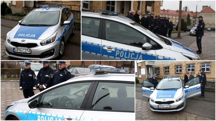 Nowy radiowóz dla malborskich policjantów ruchu drogowego - 09.12.2016