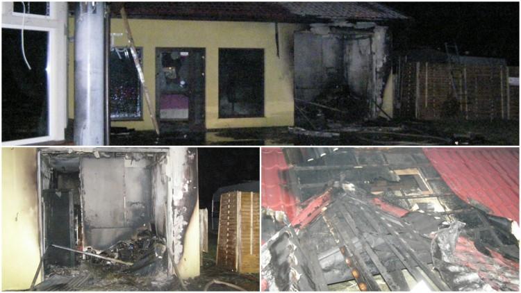 200 tys. zł. strat w pożarze lokalu gastronomicznego w miejscowości…