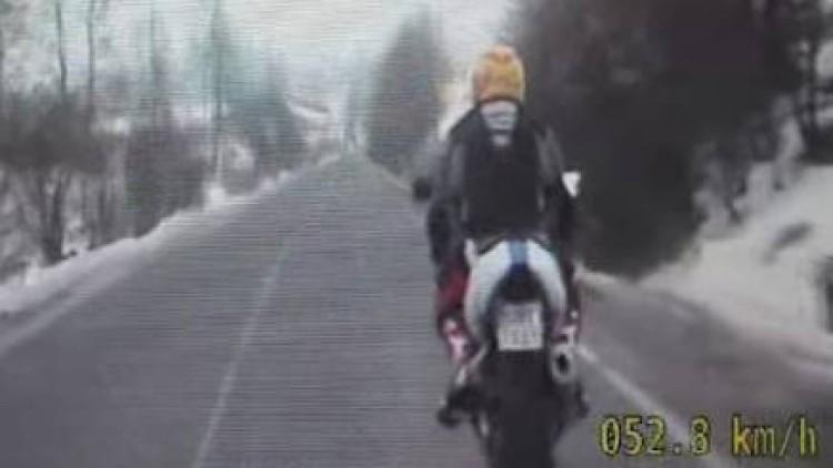 Świętował alkoholem kupno motocykla, wpadł podczas kontroli drogowej…