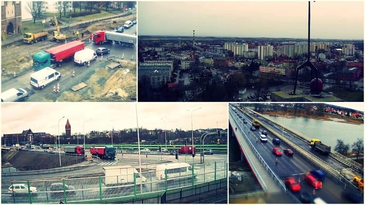 Wznowiono prace budowlane przy DK 22 i 55 w Malborku. Kiedy skończy się…