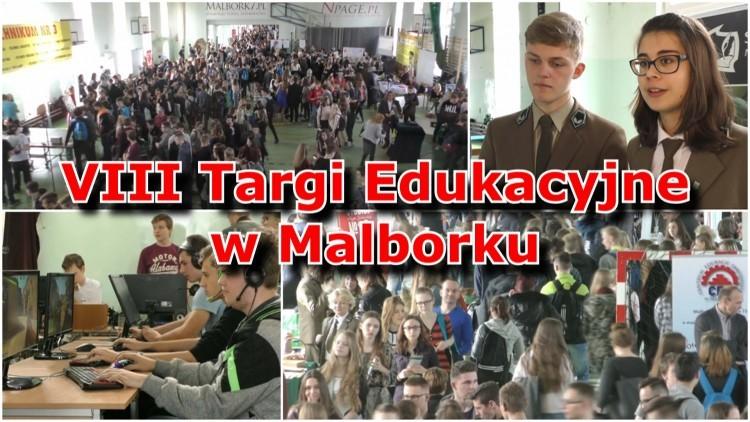 VIII Targi Edukacyjne w Malborku już za nami! Zobacz materiał wideo…