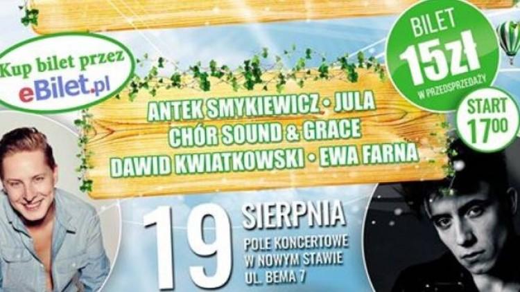 Zapraszamy po bilety! Ewa Farna, Jula, Antek Smykiewicz, Sound & Grace…
