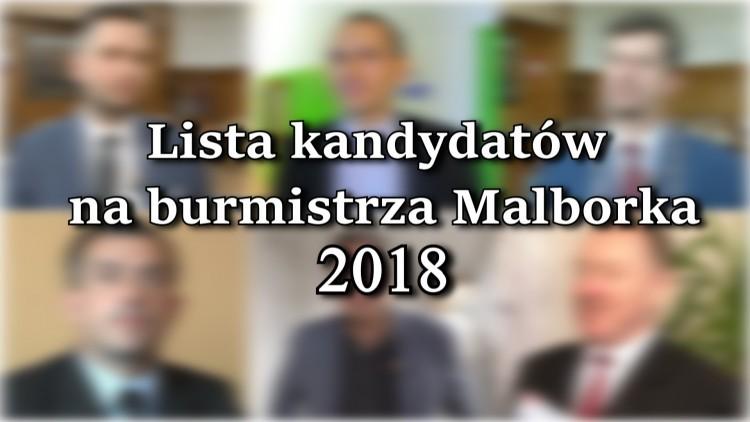 To będą kandydaci na burmistrza Malborka w 2018 roku? Oddaj głos w…