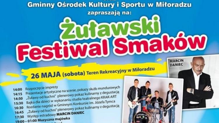 Zapraszamy na Żuławski Festiwal Smaków w Gminie Miłoradz. Gwiazdą…