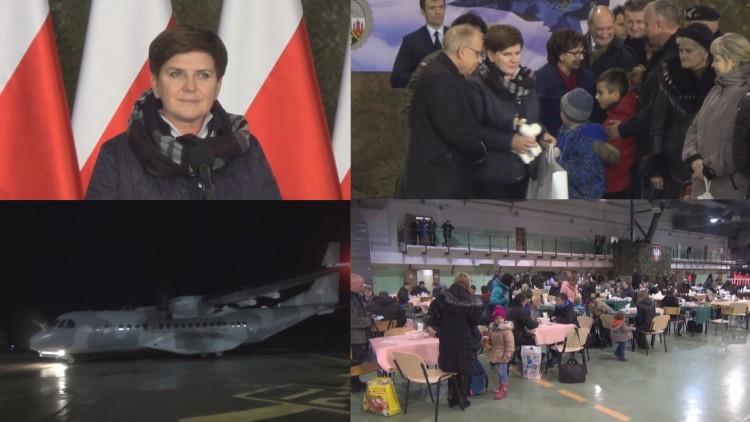22 BLT w Malborku: Kolejni Uchodźcy przylecieli do Polski - 23.11.2015