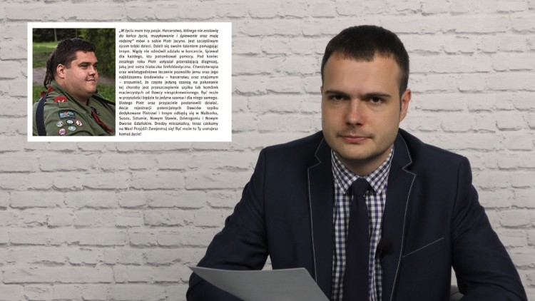 Zostań dawcą szpiku. Info Tygodnik. Malbork - Sztum - Nowy Dwór Gdański…