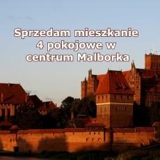 Sprzedam mieszkanie 4 pokojowe w centrum Malborka