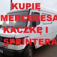 Skup Aut Mercedes Kaczka,Sprinter,190,124 C klasa,A klasa tel.570610423 całe woj.pomorskie i warmiński mazurskie