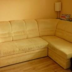 Sofa narożna rozkładana, stan idealny