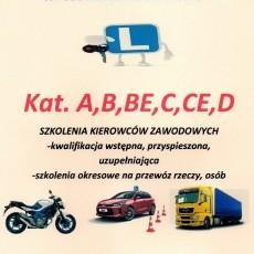 Kurs na prawo jazdy kat.A,B,BE,C,CE,D oraz szkolenia kierowców zawodowych Edyta Wojtkowska