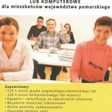 Bezpłatne szkolenia językowe lub komputerowe