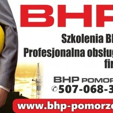 Specjalista / inspektor BHP - szkolenia BHP, obsługa firm.