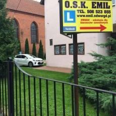 """Szkoła jazdy """"EMIL"""" zaprasza--- profesjonalna obsługa --- konkurencyjne ceny"""