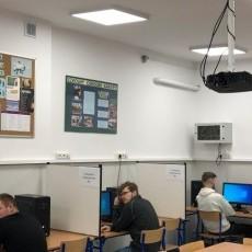 W Zespole Szkół uczniowie zdawali egzaminy zawodowe.