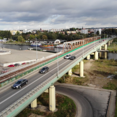 Port w Elblągu z drona - Przekop Mierzei Wiślanej - Budowa drogi wodnej…