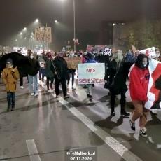 Strajk kobiet w Malborku. Marta Lempart wsparła malborski strajk i zaprezentowała…