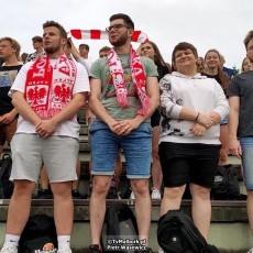 Polska - Szwecja mecz na wałach von Plauena w Malborku - 23.06.2021