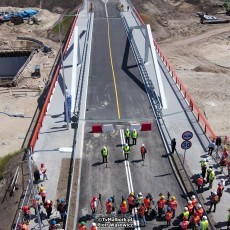 Przekop Mierzei Wiślanej. Oficjalnie otwarto most południowy nad Kanałem…